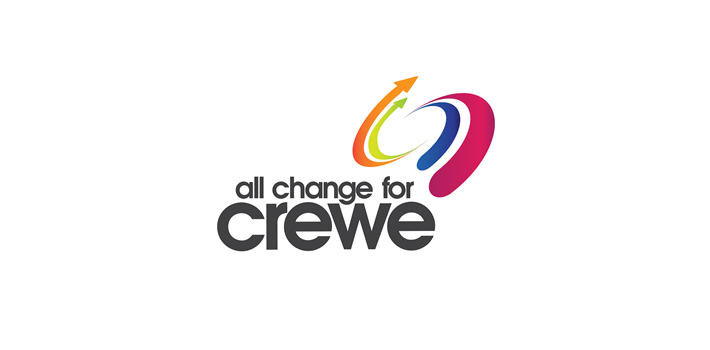 All Change for Crewe Brand ID