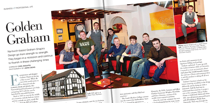 Cheshire Life and The Institute of Directors Magazine