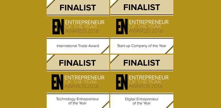 North West Entrepreneur of the Year Awards Finalist 2016