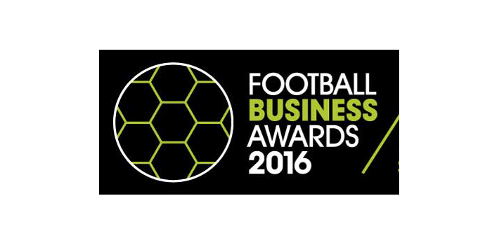 Finalist at The Football Business Awards 2016